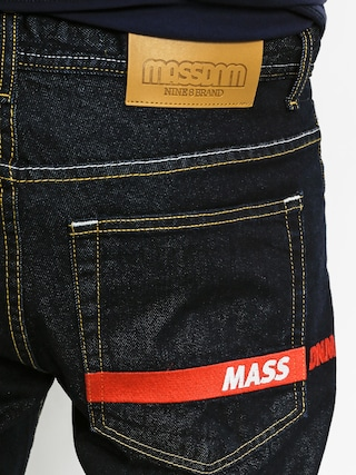 Szorty MassDnm Flip Straight Fit (dark rinse)