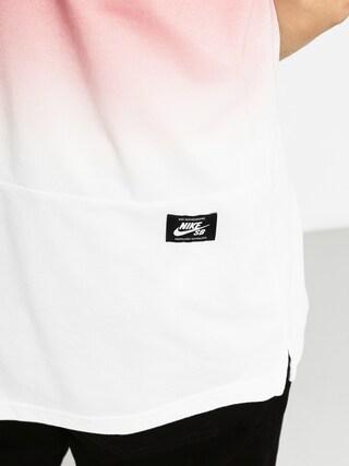 Polo Nike Sb Dry Polo Dip Dye (team red/white)