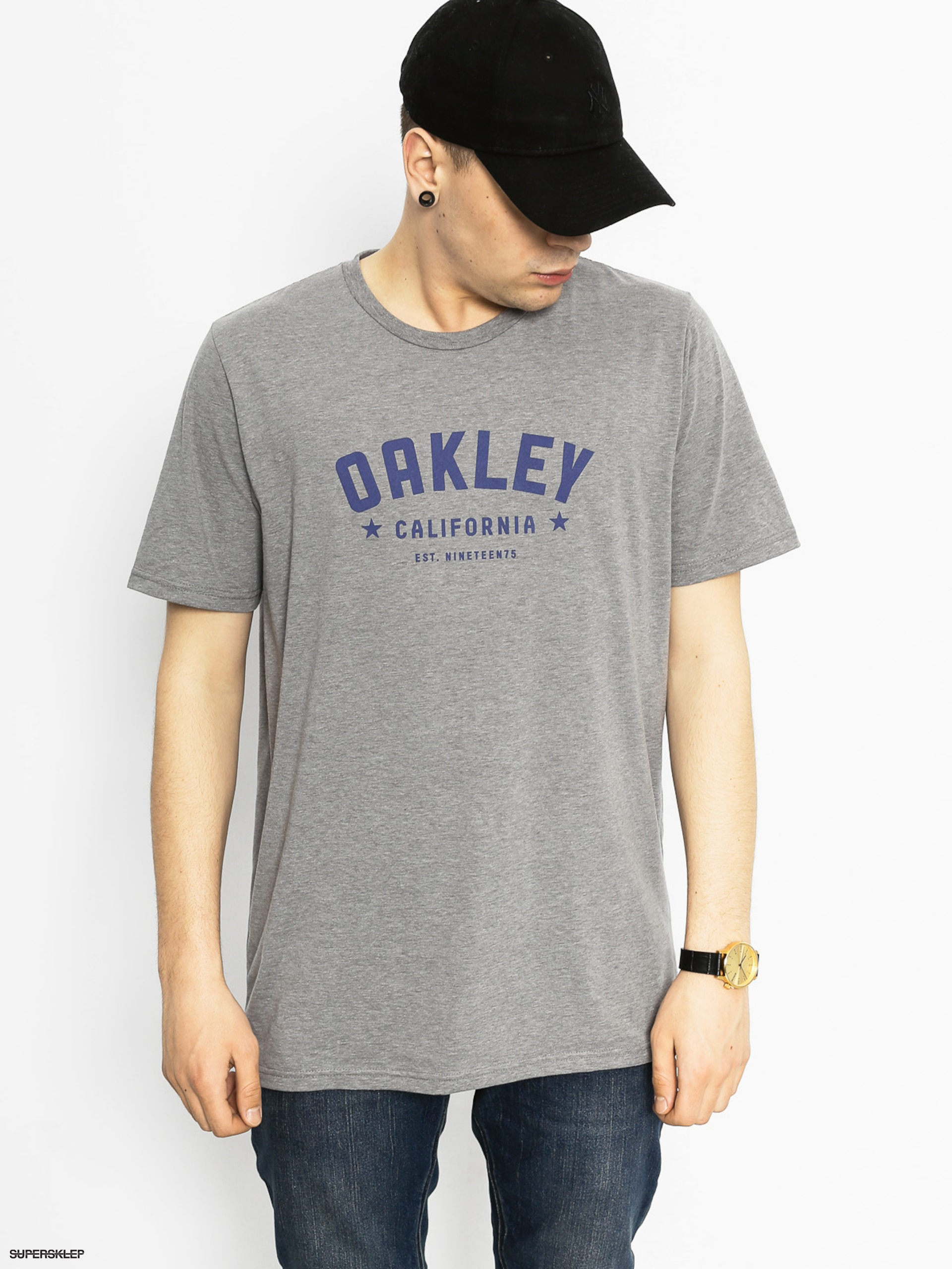 T-shirt Oakley 50I50 Oakley Original (athletic heather grey)