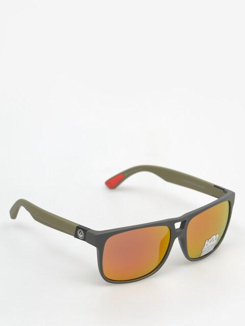 Okulary przeciwsłoneczne Dragon Roadblock H2O (matte magner grey/red)