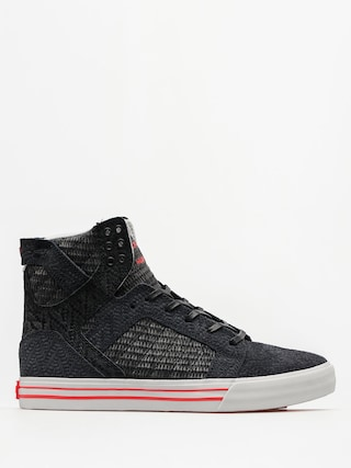 Buty Supra Skytop (black/white red)