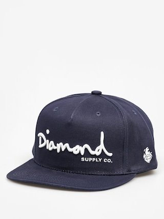 Czapka z daszkiem Diamond Supply Co. Og Script ZD (navy)