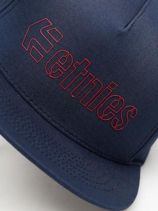 Czapka z daszkiem Etnies Corporate 5 Snap ZD (navy/red)