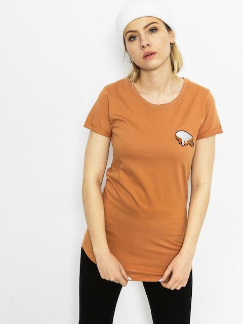 T-shirt Diamante Wear Hot Sauce Wmn (carmel)
