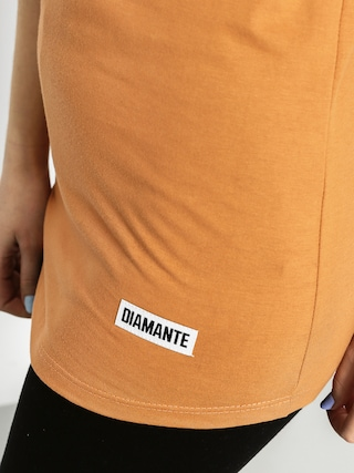 T-shirt Diamante Wear Hot Sauce Wmn (carmel)
