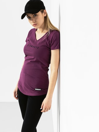 T-shirt Diamante Wear Logo Wmn (violet)