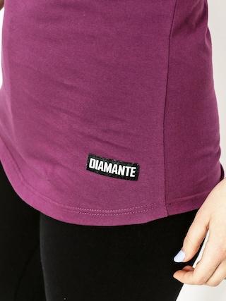 T-shirt Diamante Wear Logo Wmn (violet)
