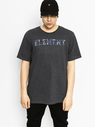 T-shirt Element Mineral Font (charcoal heather)