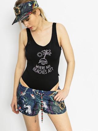Bikini Diamante Wear Where My Beaches At Wmn (black)