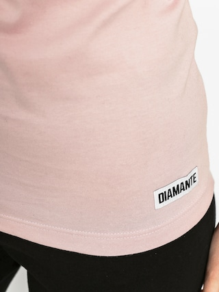 T-shirt Diamante Wear Wake Pray Slay Wmn (pink)