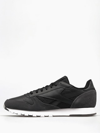 Buty Reebok Cl Leather Mo (black/coal/white/skullgry)