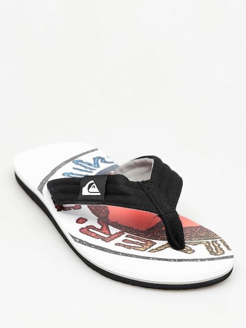 Japonki Quiksilver Molokai Layback (white/black)