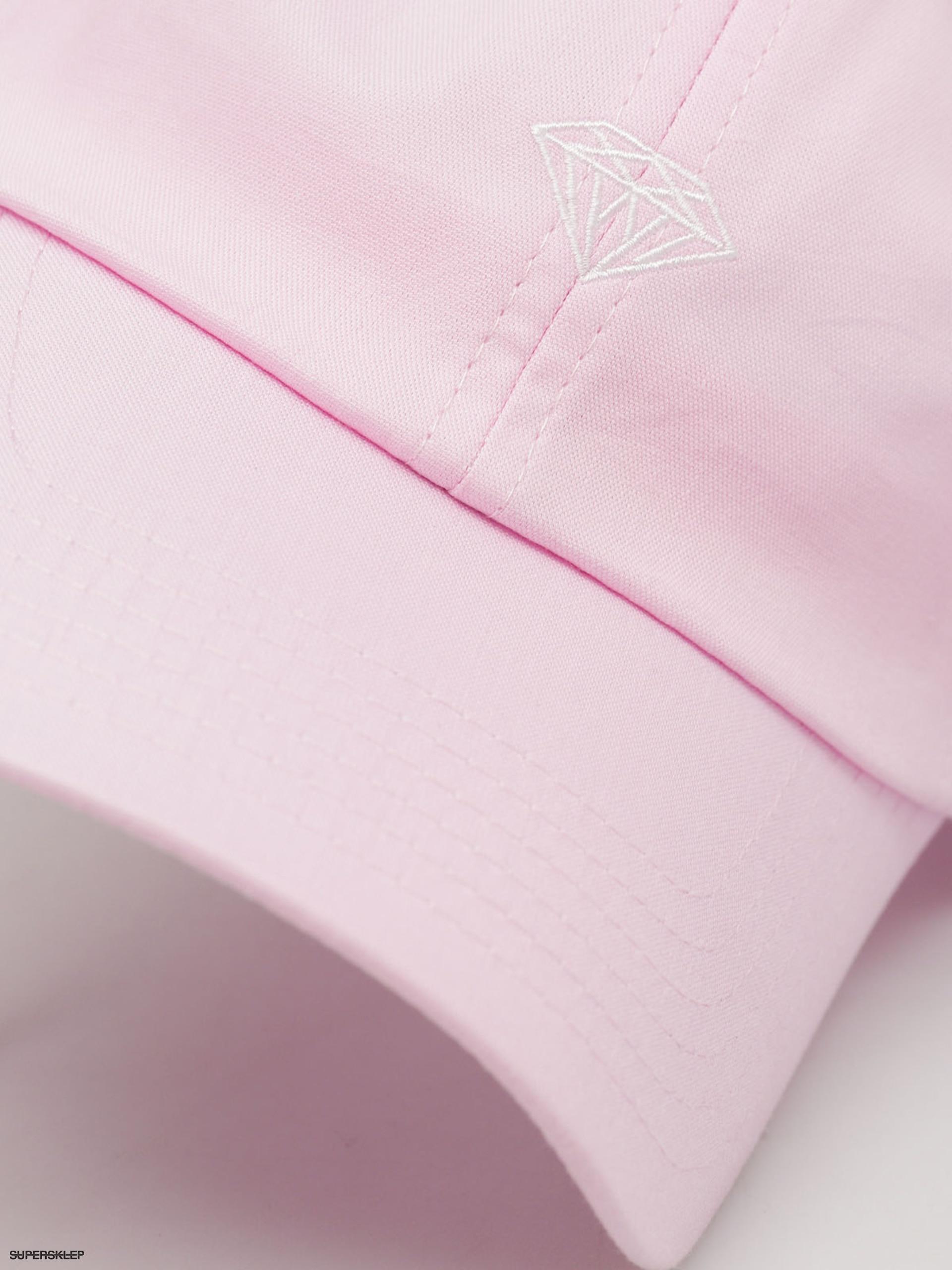 Czapka z daszkiem Diamond Supply Co. Micro Brilliant Sports ZD (pink)