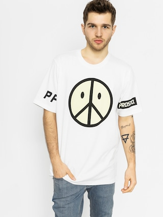 T-shirt Prosto Peace Acid (white)