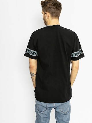 T-shirt Grizzly Griptape Front Runner Knit (black)