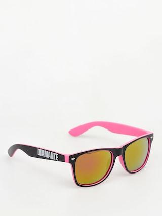 Okulary przeciwsu0142oneczne Diamante Wear Diamante 3 (pink)