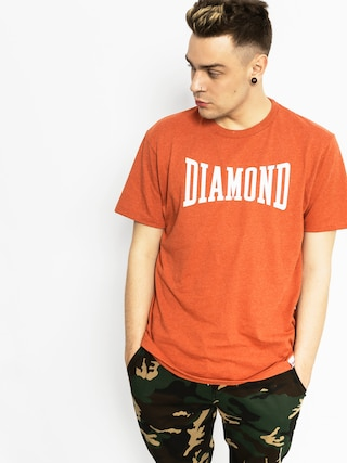 T-shirt Diamond Supply Co. Crescendo (burnt orange)