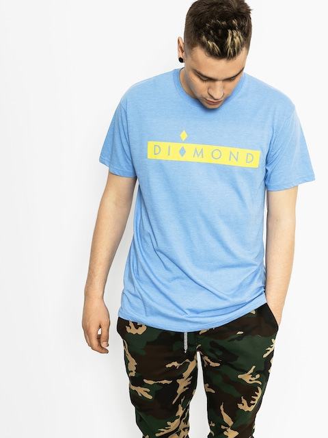 T-shirt Diamond Supply Co. Starboard (slate)