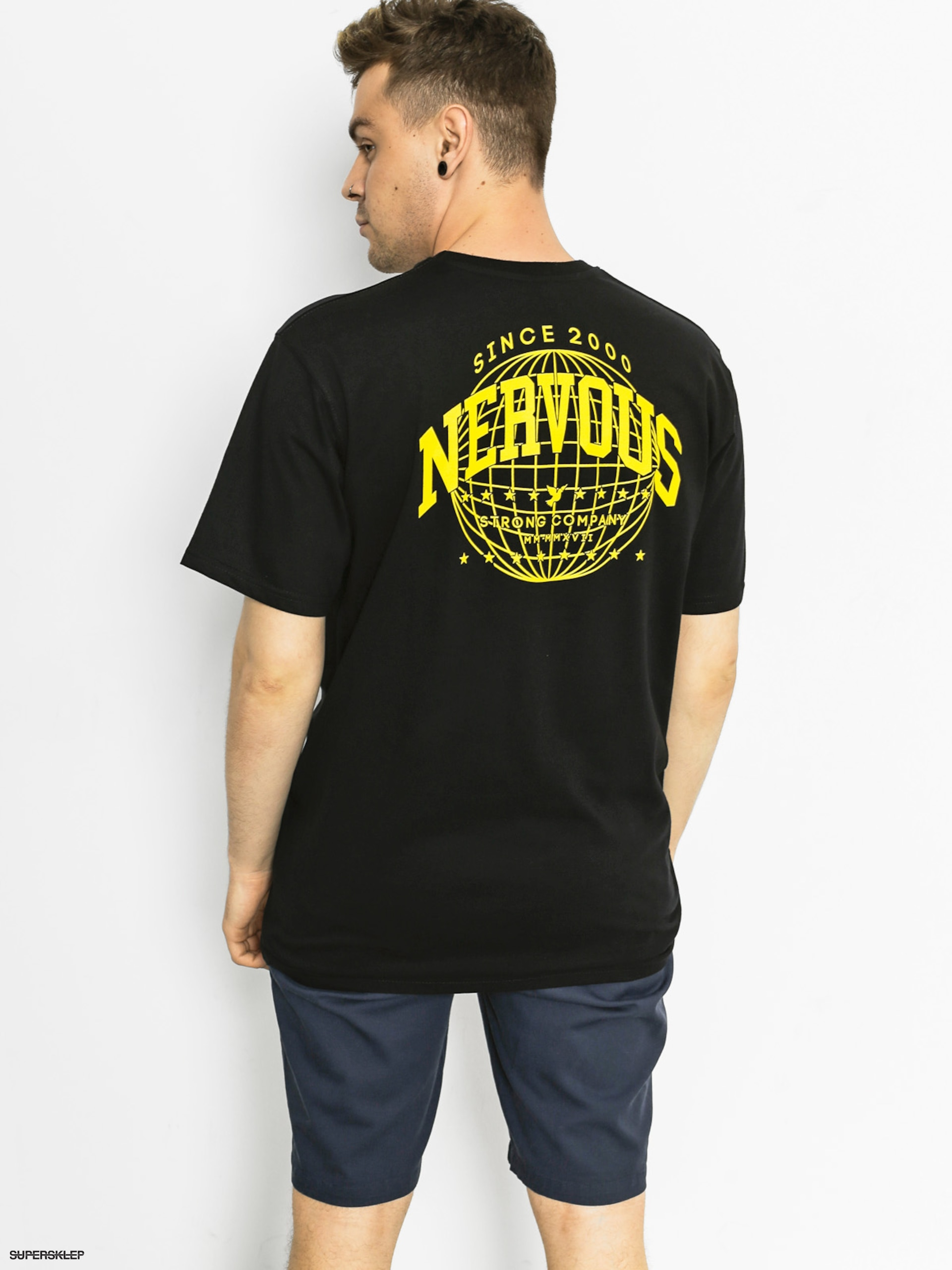T-shirt Nervous World