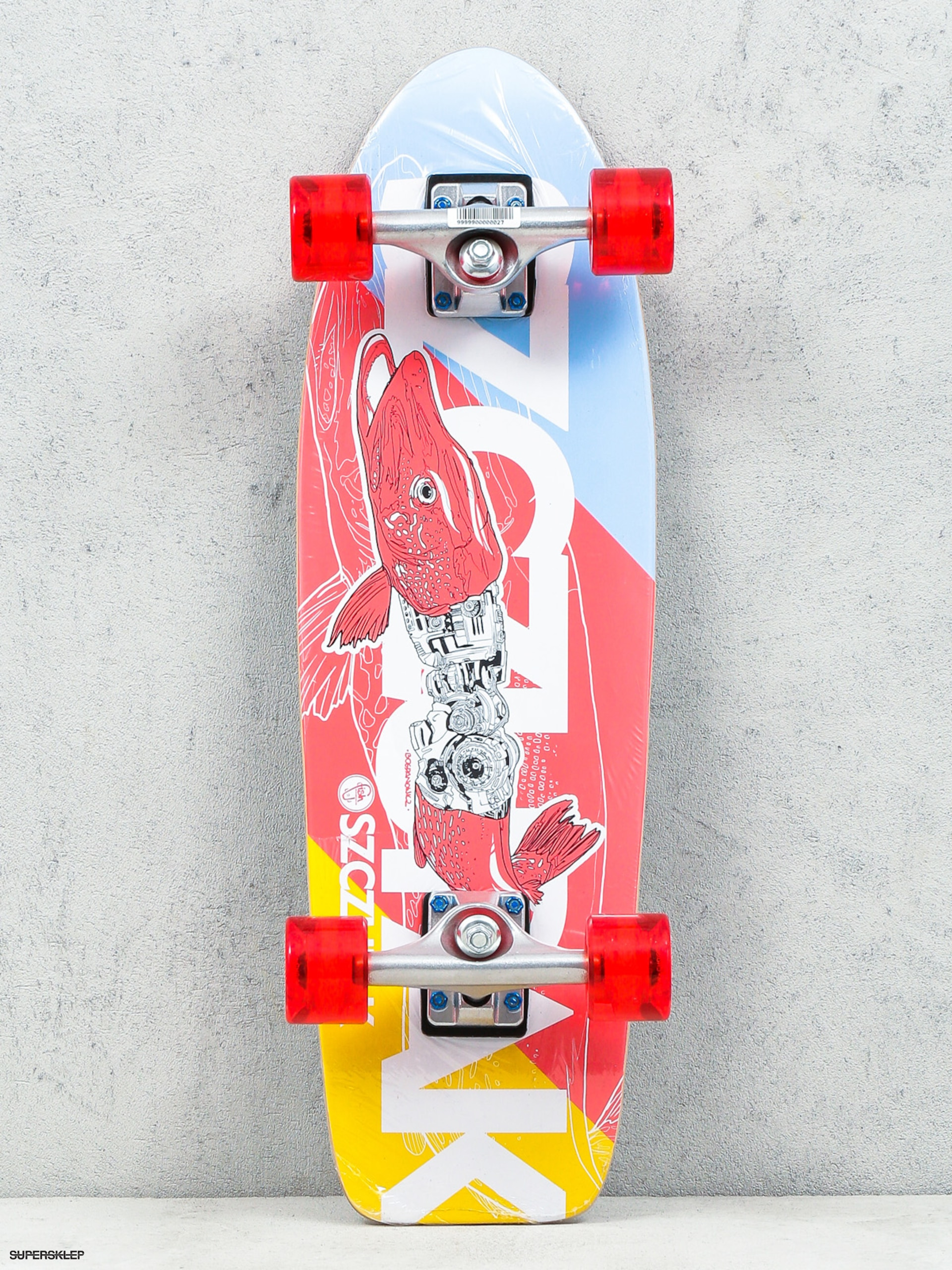 Deskorolka cruiser Fish Skateboards Szczupak
