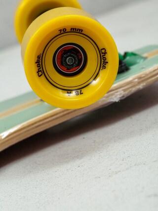 Longboard Choke Tracer Pro Dropthrough (green/red)