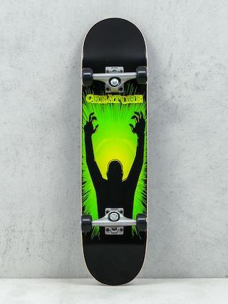Deskorolka Creature The Thing (black/green/yellow)
