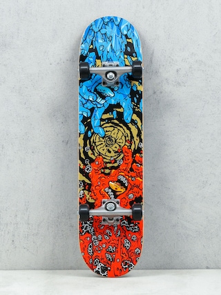 Deskorolka Santa Cruz Fire And Ice (red/blue/gold)