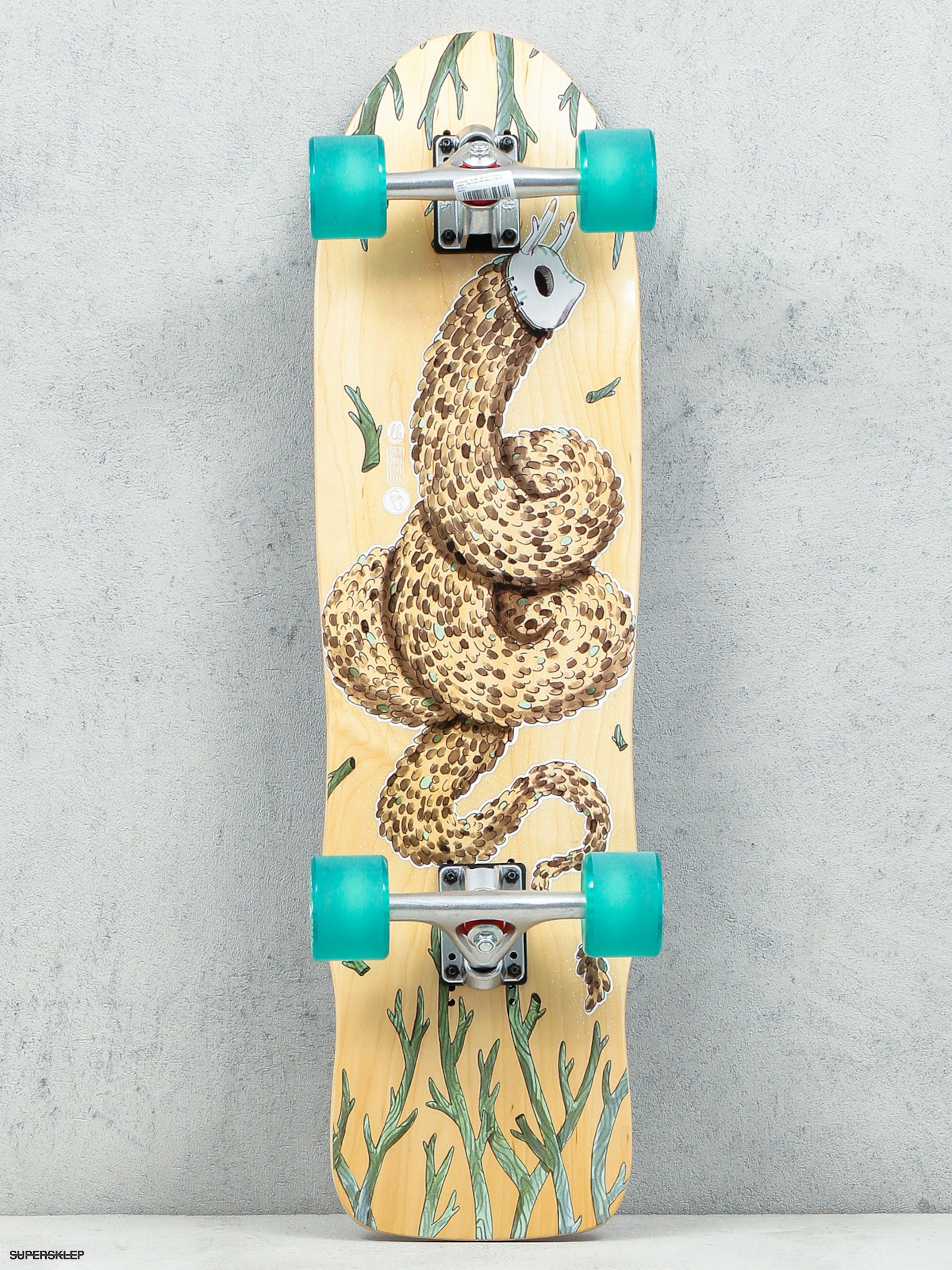 Deskorolka cruiser Fish Skateboards Seadragon