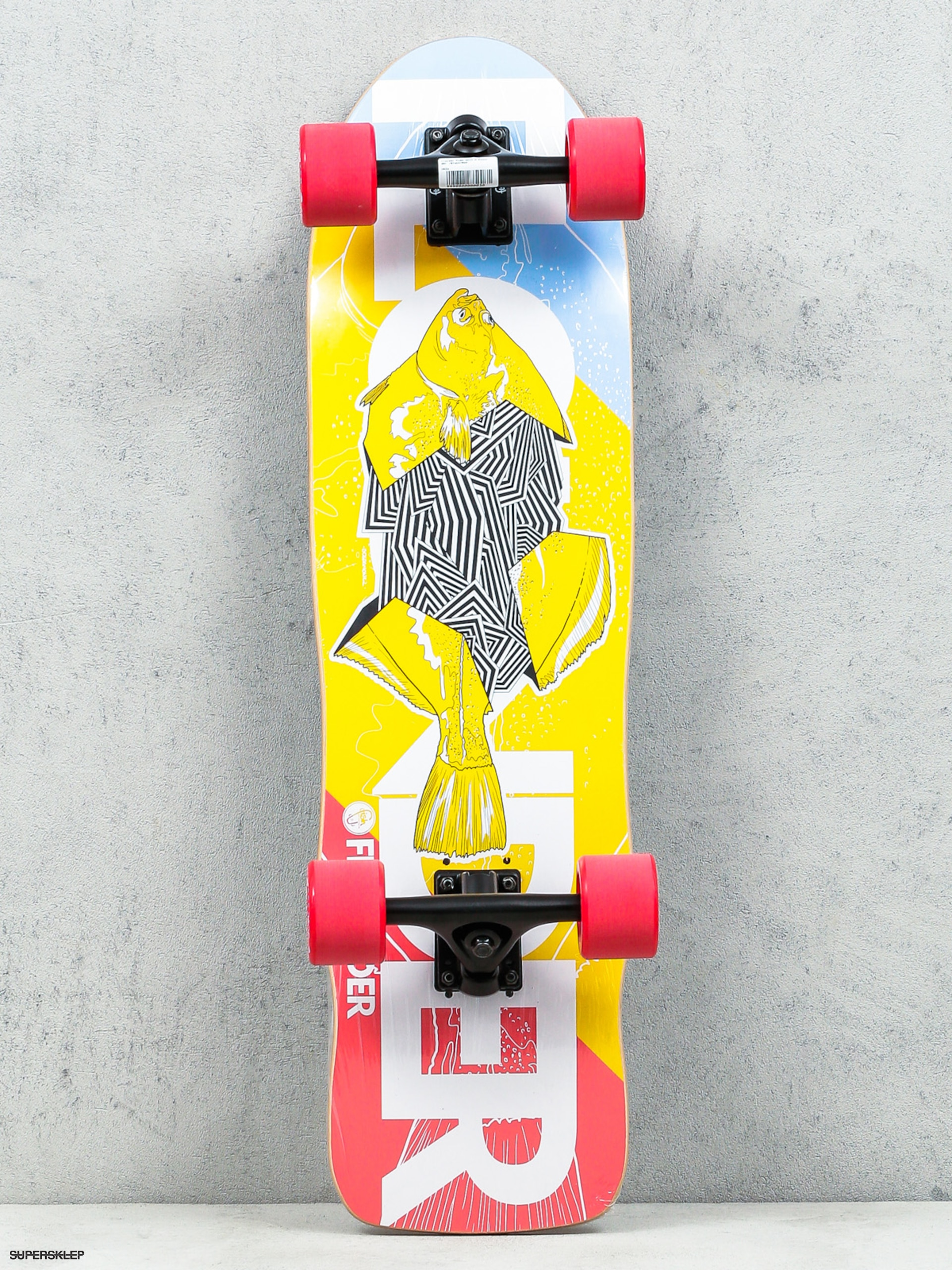 Deskorolka cruiser Fish Skateboards Flounder