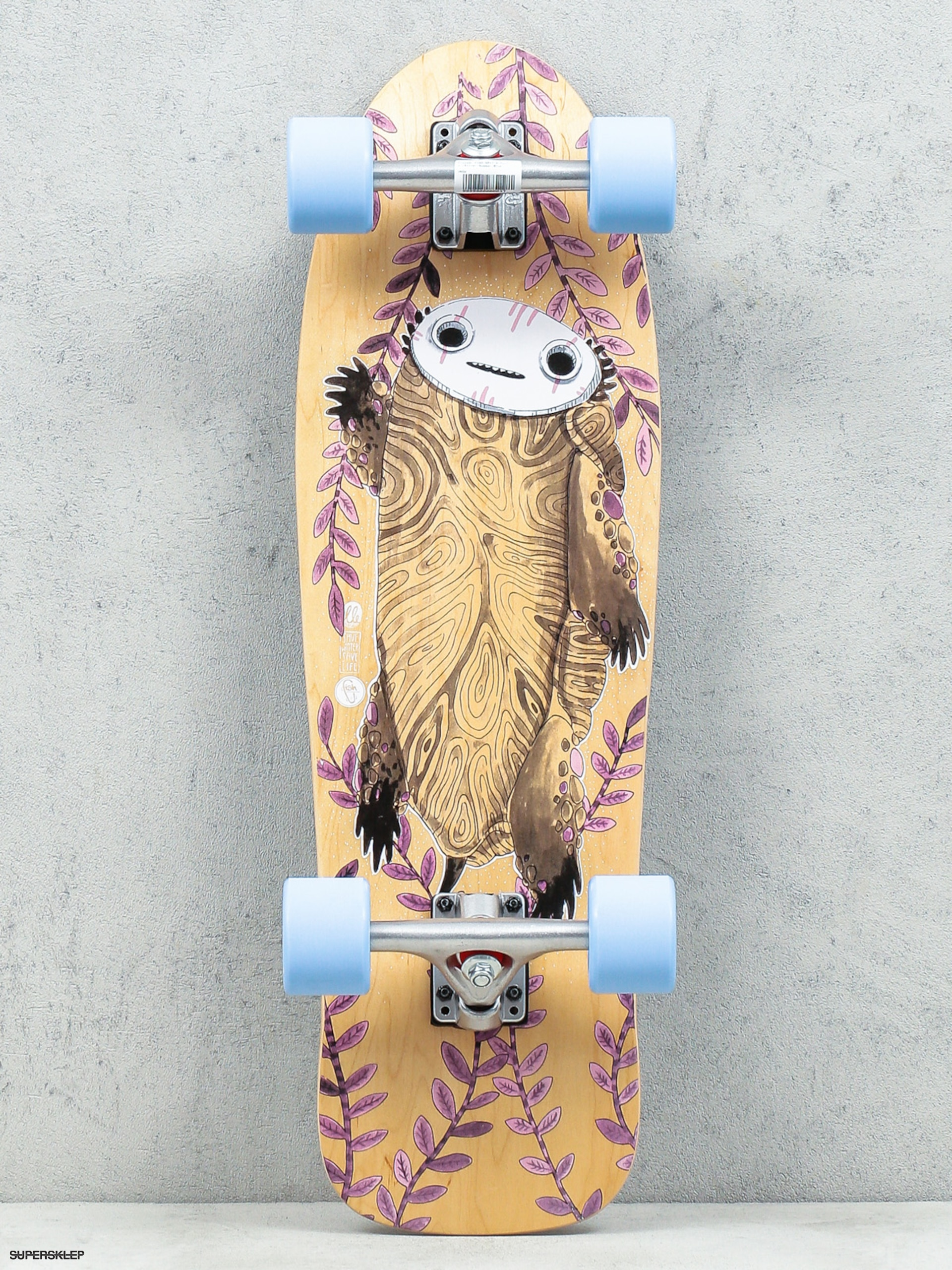 Deskorolka cruiser Fish Skateboards Turtle