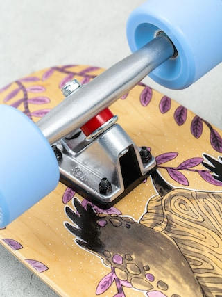 Deskorolka cruiser Fish Skateboards Turtle (silver/summer blue)