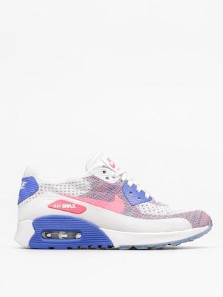 Buty Nike Air Max 90 Wmn (Ultra 2.0 Flyknit white/racer pink medium blue)