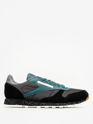 Buty Reebok Cl Leather Sm (black/washed jade/all)