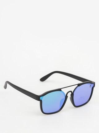Okulary przeciwsu0142oneczne Majesty Wire (matt black/green emerald lens)
