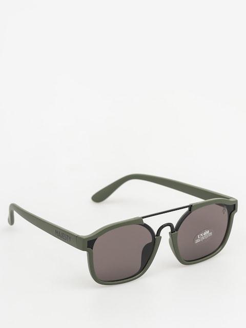 Okulary przeciwsłoneczne Majesty Wire (matt army green/black pearl lens)