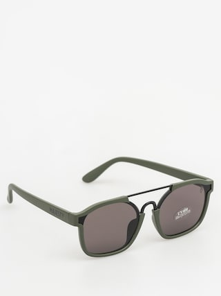 Okulary przeciwsu0142oneczne Majesty Wire (matt army green/black pearl lens)