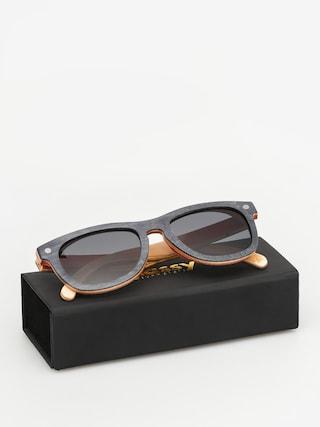Okulary przeciwsłoneczne Glassy Deric Polarized Skateboard (wood)