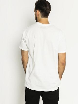 T-shirt Altamont Cfadc Push Trought (white)