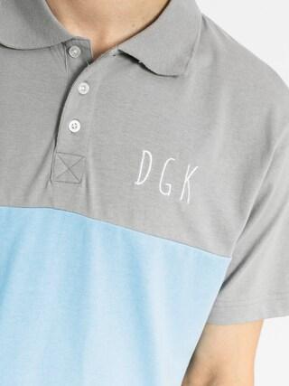 Polo DGK Saturday Custom (grey/blue/white)