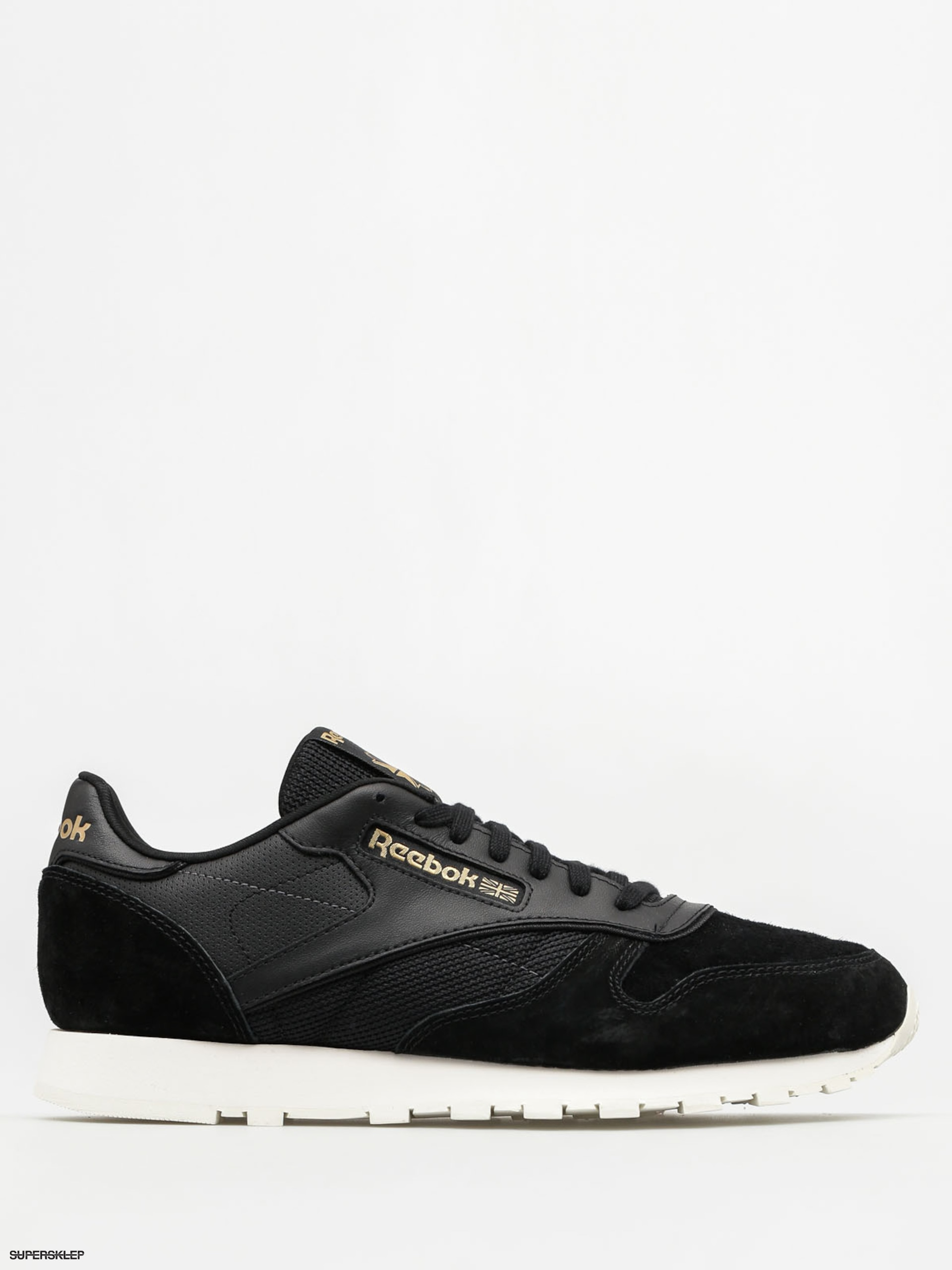 Buty Reebok Cl Leather Alr (black/chalk/ashgry/br)