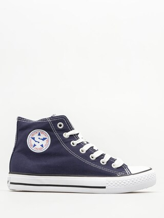 Trampki Smith's Mas 002 Wys (navy)