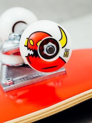 Deskorolka Toy Machine Robot Tie Dye (red/tie dye)