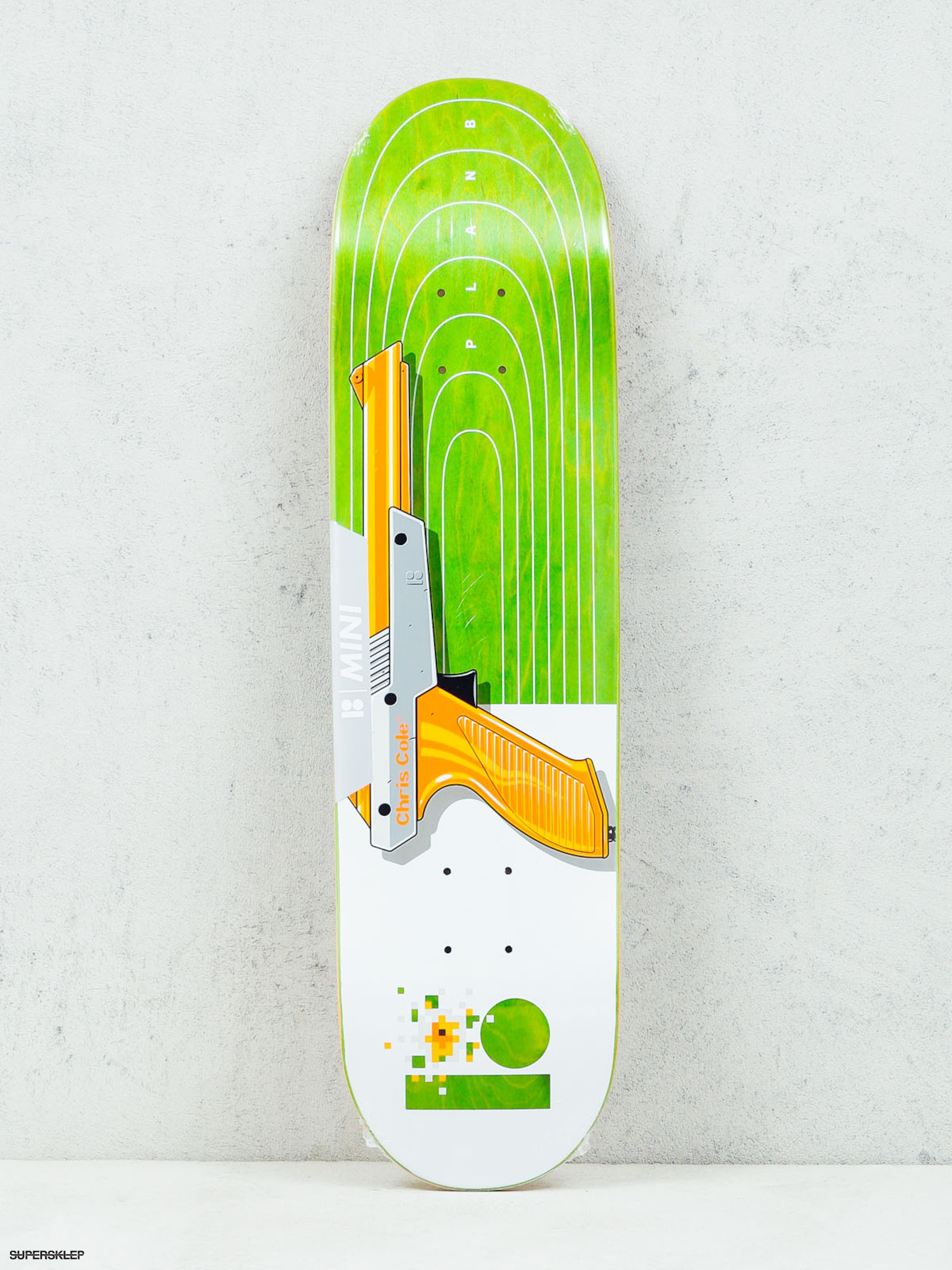 Deck Plan B Cole Heat Mini (white/green)