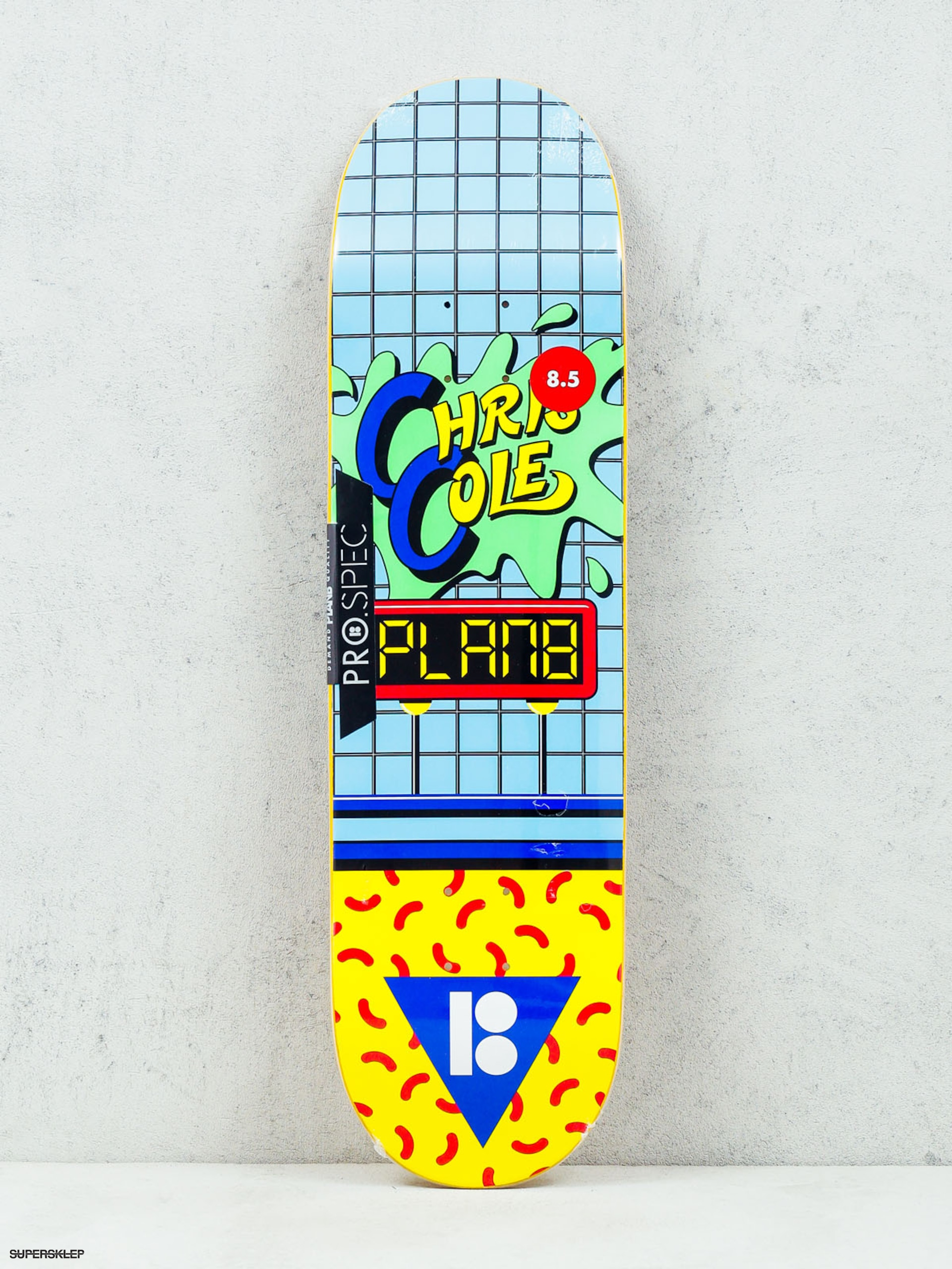 Deck Plan B Cole Dare (blue/green/yellow)