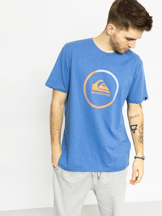 T-shirt Quiksilver Active Logo (turkish sea heather)