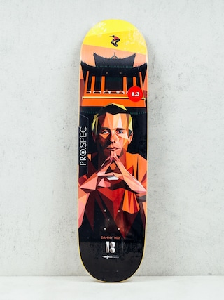 Deck Plan B Danny Way Alf Art (black/red/yellow)