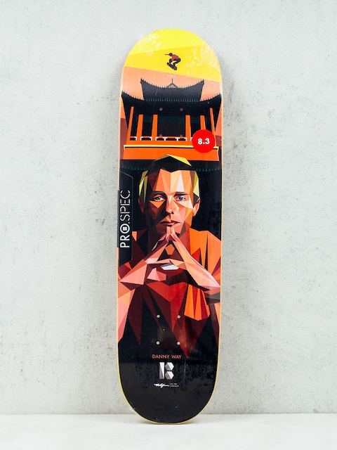 Deck Plan B Danny Way Alf Art