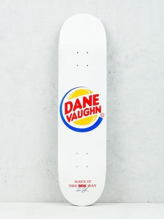 Deck DGK Vaughn Cease & Desist (white)