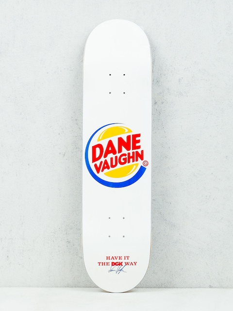 Deck DGK Vaughn Cease & Desist (white)
