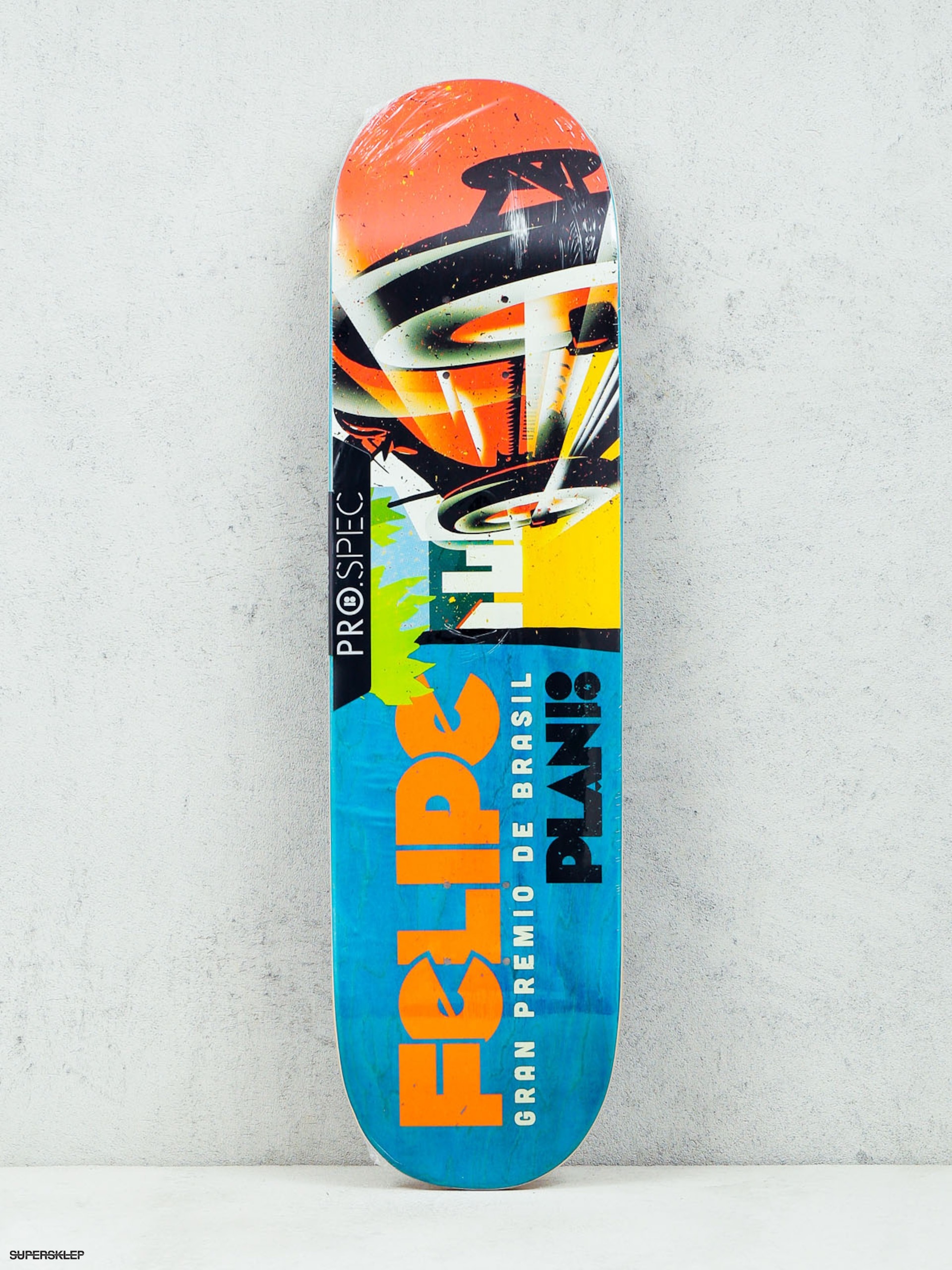 Deck Plan B Felipe Racers (multicolor)